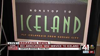 Icelandair coming to KCI, will offer nonstop transatlantic air service - Video