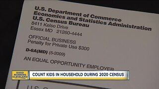 Count kids in household during 2020 Census