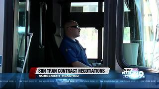 Sun Tran and Teamsters develop tentative labor agreement - Video