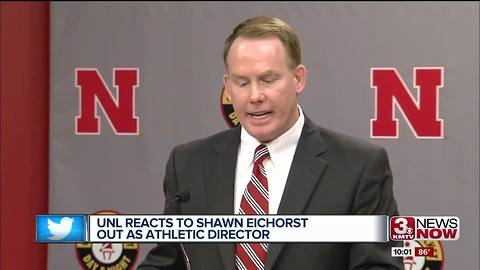 Eichorst ousted as Huskers AD