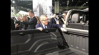 Ohio Governor Mike DeWine on meeting with GM CEO Mary Barra - Video