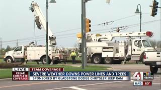 Overnight storms cause damage, power outages - Video