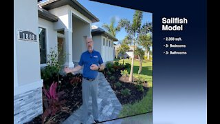 ALL NEW Sailfish Model SW Cape Coral, Florida Custom Home Construction