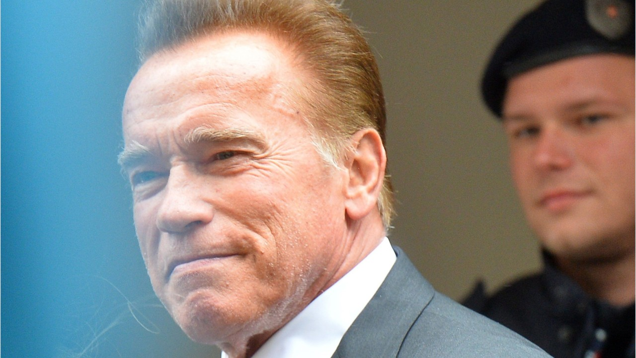 Arnold Schwarzenegger Makes Rap Debut