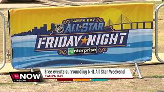 Free events surrounding NHL All Star weekend - Video