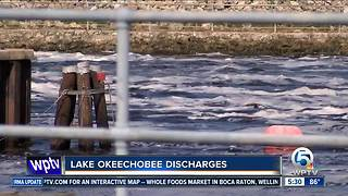 Many are concerned over Lake Okeechobee water discharges