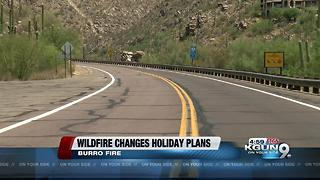 Burro Fire grows to over 19,057 acres - Video