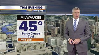 Increasing clouds Friday night