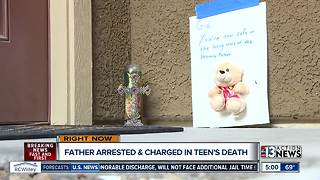 Neighbors talk about teen reportedly killed by father - Video