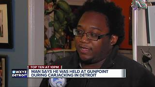 Security guard carjacked outside Detroit senior home - Video
