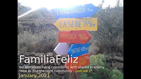 FamiliaFeliz Podcast 2021 - 02 - How to find the right community