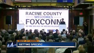 Foxconn announces Mount Pleasant location - Video