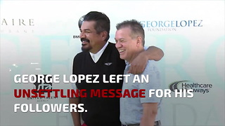 George Lopez Thinks One Group Should Be Deported... No One's Laughing - Video