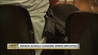 Michigan schools considers arming employees