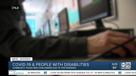 New challenges for those with disabilities amid pandemic