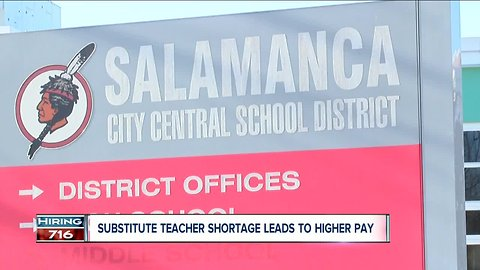 How a school district is raising its wages to tackle the substitute teacher shortage