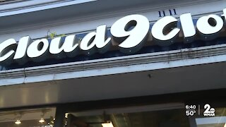 Cloud 9 Clothing in Hampden, offering discounts all through the month of December