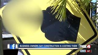 Cape Coral construction impacts businesses