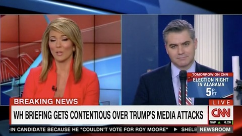 CNN Acosta Now Claims WH Trying to Suppress Free Speech