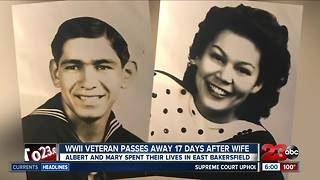WWII veteran passes away 17 days after wife
