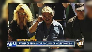 Father of tennis star accused of molesting kids - Video