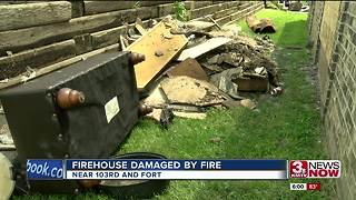 Kitchen fire ignites at Omaha Fire station