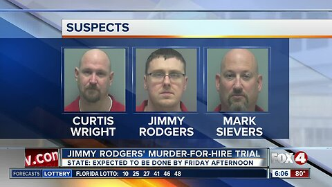 Key witness could testify in Rodgers murder trial Thursday