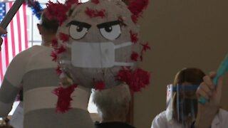 Local nursing home beats COVID with piñata party