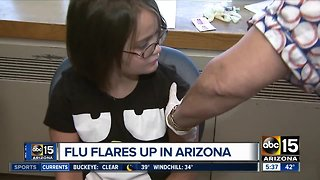 Children most affected by the flu in Arizona