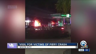 Fiery car crash kills 5 people in St. Lucie County