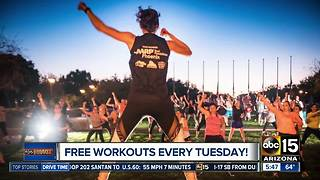 Free workouts every Tuesday! - Video