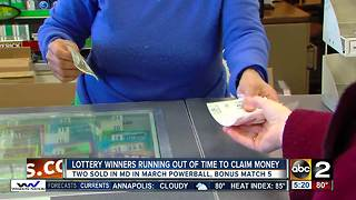 2 Marylanders are sitting on 50k lottery tickets - Video