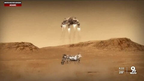 How Mason tech firm helped send rover Perseverance to Mars