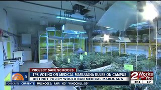 TPS to vote on banning medical marijuana on school property