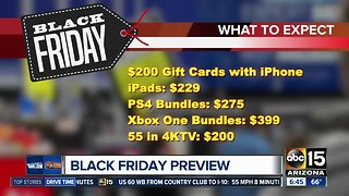 Previewing Black Friday deals