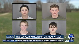 Arvada police identify suspects arrested after 'chemical bomb' attack on officer, citizen
