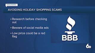 BBB Online Holiday Shopping Scams