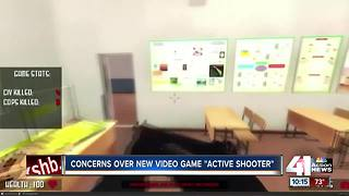 Teachers, parents angered by school shooter game - Video