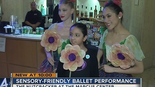 Sensory-friendly ballet performance of the Nutcracker - Video