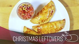 How To: Leftover turkey and chorizo parcels - Video