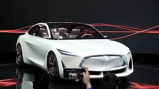 INFINITI Q Inspiration Concept has first production ready VC-turbo engine