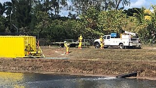 Chemical reaction causes yellow cloud, nasty smell in Palm Beach Country Estates