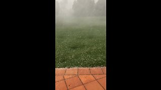 Insane hail storm caught on camera in Sydney