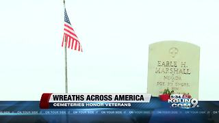Wreaths across America ceremony held in Tucson - Video