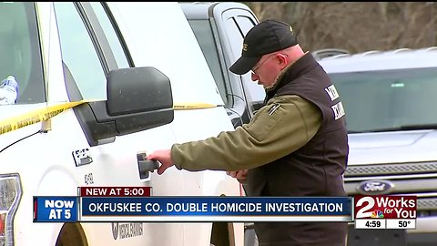 Okfuskee County double homicide investigation