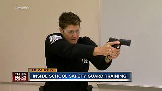 Pasco's new school security guards hold active shooter training
