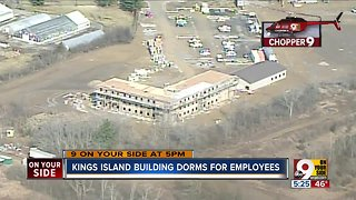 Kings Island builds dorms for employees