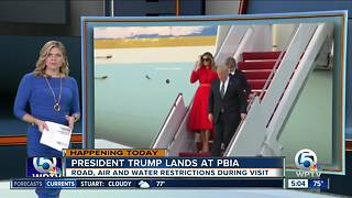 President Trump to arrive in Palm Beach County Tuesday evening