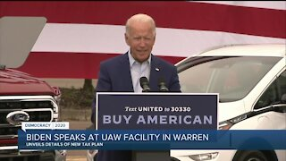 Biden blasts Trump during Warren campaign event for 'downplaying' severity of COVID-19