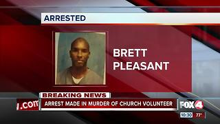 Arrest made in murder of North Fort Myers church volunteer